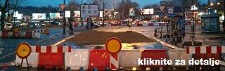 Kako doći na pregled dok traje rekonstrukcija ul. Vojvode Stepe i kružnog toka Autokomanda?