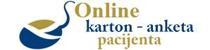 Online karton pacijenta