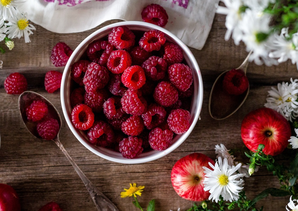Malina: jedno od voće sa najmanje šećera