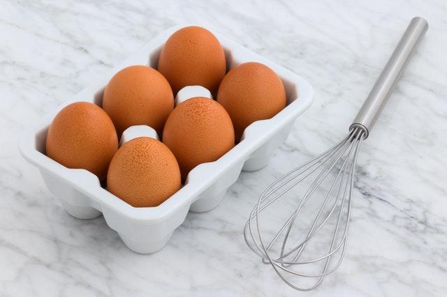 Lista za kupovinu hrane - ne bez jaja